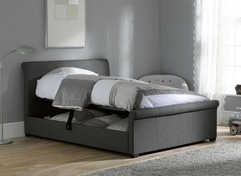Prime Dreams Wilson Upholstered Ottoman Bed Frame Excellent Condition In Greenisland County Antrim Gumtree Pdpeps Interior Chair Design Pdpepsorg