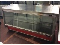 Infrico Prep Counter Fridge Stainless Steel Top RRP £2922