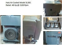Hatz used Diesel Air Cooled Engine Model 3L30C