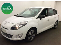 £171.14 PER MONTH WHITE 2011 RENAULT GRAND SCENIC 1.5 DYNAMIQUE TOM TOM