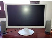 BENQ 21in LAPTOP/COMPUTER MONITOR WITH HDMI LEAD