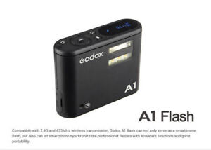 Godox A1 Smartphone Flash & LED includes 2.4G.433 Mhz Wriless