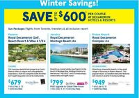 Save up to $600 per couple at Decameron Hotels & Resorts.