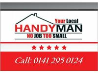 Handymen : Handyman Flat pack/painting/hanging pictures/kitchens/bathrooms/all work undertaken