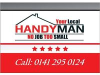Handyman Glasgow : No Job Too Small /Kitchens/Bathrooms/flatpacks/Doors/Floors/Lights/Walls