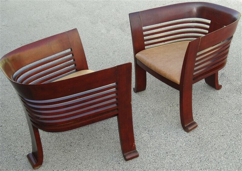 PAIR Modern Collezione Europa USA Chairs 1980s-1990s Post Mid Century