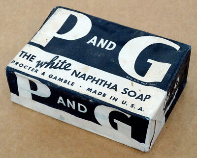 P And G Vintage White Naptha Soap Bar Procter   Gamble   Unopened Old Stock