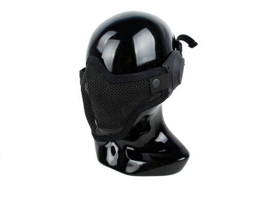 TMC Mesh Mask with Ear Cover - Black TMC2723-BK