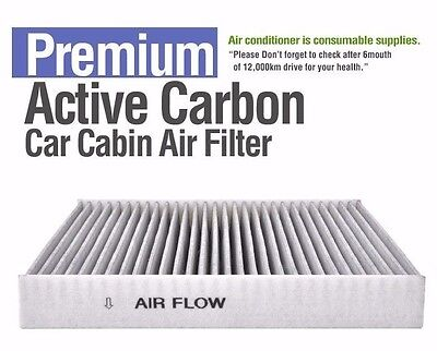 Charcoal activated carbon cabin air filter For Kia New Opirus// Amanti 2000~2011