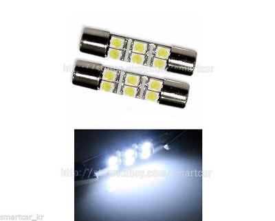 4pcs 2017 Honda Ridgeline White LED SunVisor Vanity Mirror Light Bulb