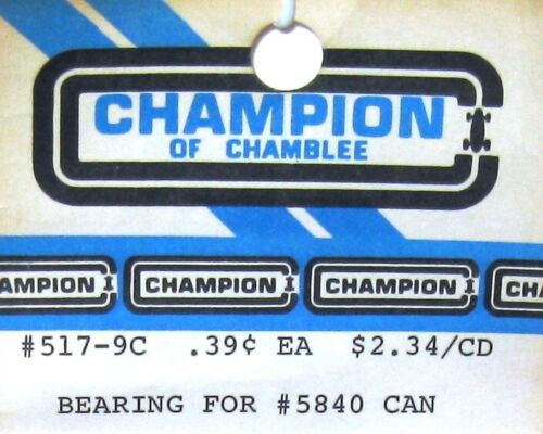 NOS- Champion of Chamblee - (1 Pc.) 517-9C Can Bushing