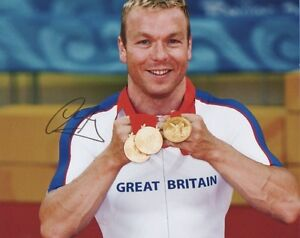 SIR-CHRIS-HOY-signed-10x8-photo-OLYMPIC-GOLD-MEDALIST-Cycling-Champion-COA