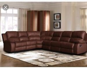 Lazy Boy Leather Sectional
