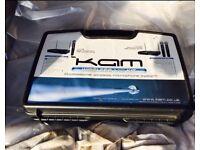KAM KWM11 Wireless Twin Mics with case