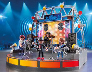 Playmobil City Life Scène de Rock