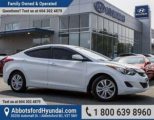 2012 Hyundai Elantra GL BC OWNED & LOW KILOMETRES