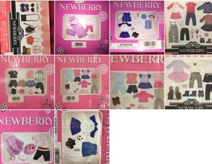 "NEWBERRY 18"" DOLL CLOTHING SETS BRAND NEW"