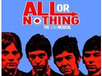 2 x tickets All or Nothing story of the Small Faces at Theatre Royal Sat 15th July 7.45pm