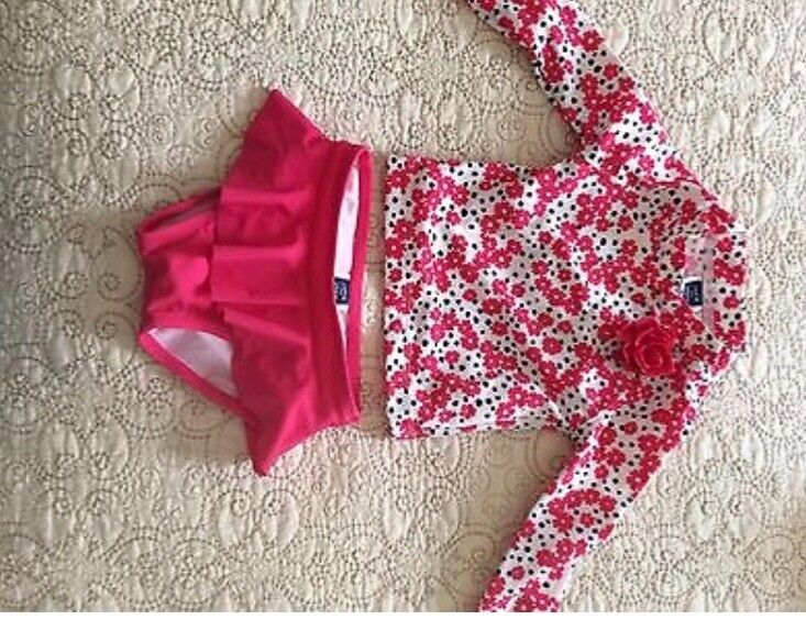 janie and jack baby girl bathing suit  6-12 month
