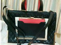 Handbag and a purse