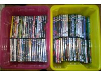 74 Assorted DVD's All Good Condition and Working.