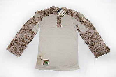NEW NWU Type II Navy Seal AOR1 desert FROG COMBAT FR Shirt TOP SMALL SR