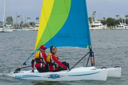 Hobie Bravo Sail Boat w Trailer/s Exe Cond (repl. cost $8,852)