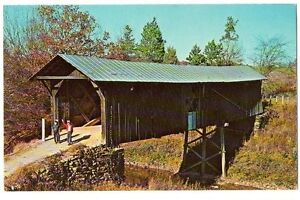 NC North Carolina - Randolph County  Covered Bridge