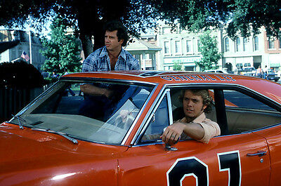 DUKES OF HAZZARD GENERAL LEE CAST 24X36 POSTER PRINT