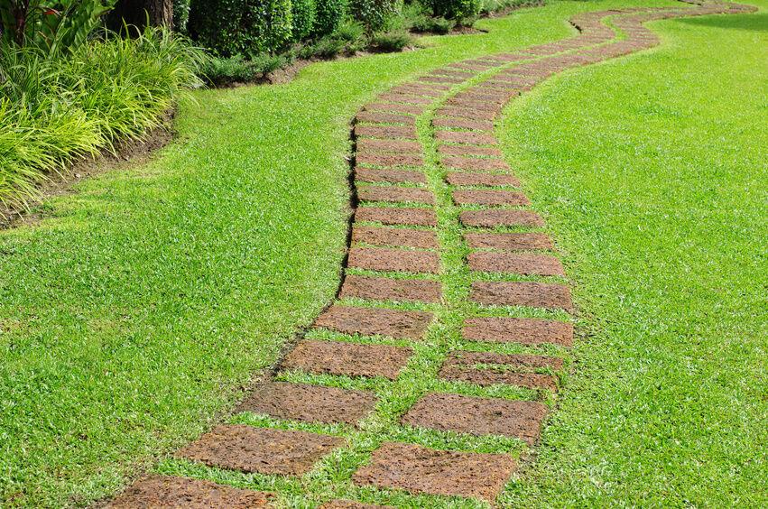 How to Create Bark Pathways in Your Garden