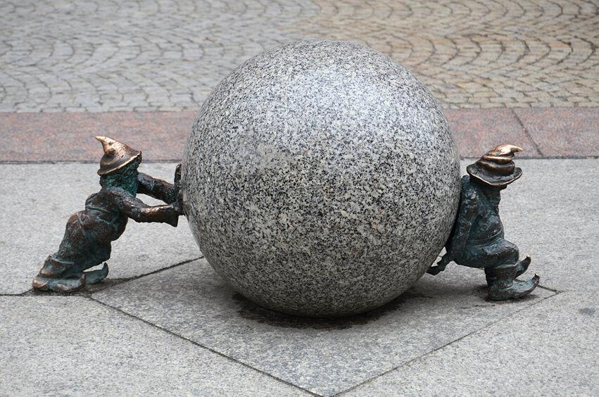 Wie wird Bronze-Kunst hergestellt?