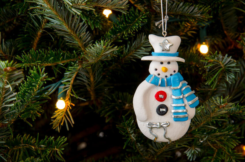 How To Make Christmas Tree Ornaments With Air Dry Clay Ebay
