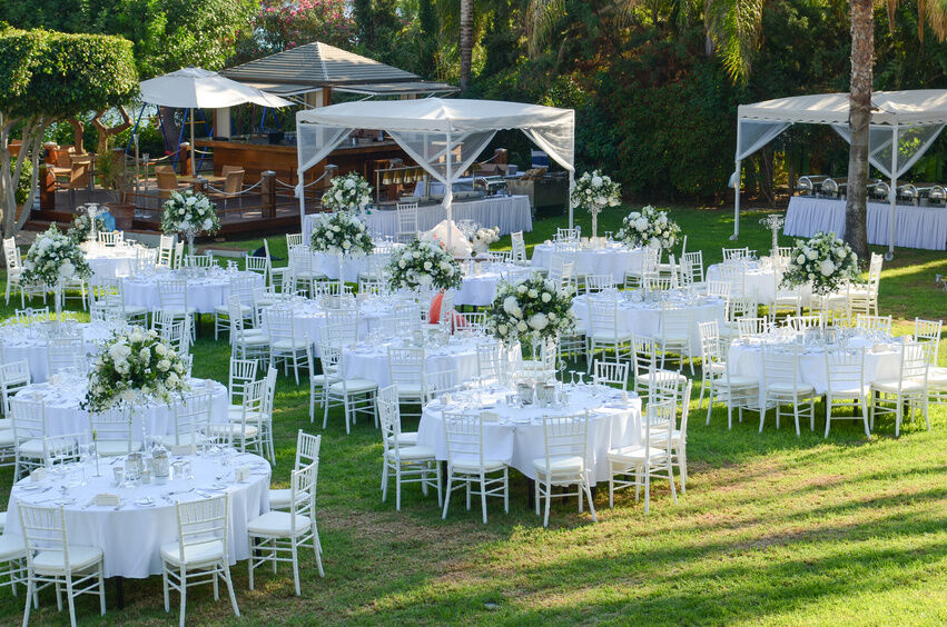 How To Decorate Your Outdoor Wedding: How To Make A Wedding Canopy Tent