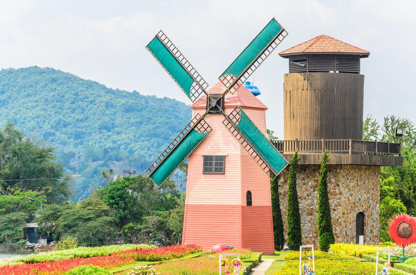 How To Build A Dutch Windmill Ebay