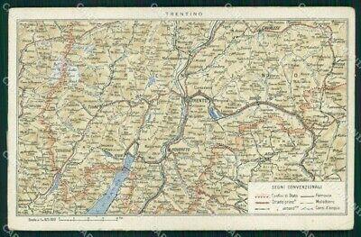Cartina Stradale Trentino.Mappa Geografica Vatican