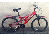 "Bike/Bicycle.UNISEX SABRE "" DELTA SPORTZ ""MOUNTAIN BIKE. SUIT 9-12 YEARS"