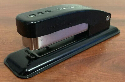 Vintage Swingline Cub Desktop Stapler - Black - Made In Usa - Vg - Pre-owned