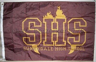 Buffy The Vampire Slayer Sunnydale High School 3'x5' flag - USA seller shipper