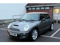 MINI COOPER S 1.6 52PLATE SHOWROOM COND. PANORAMIC ROOF LEATHER FULL HISTORY RECENTLY SERVICED