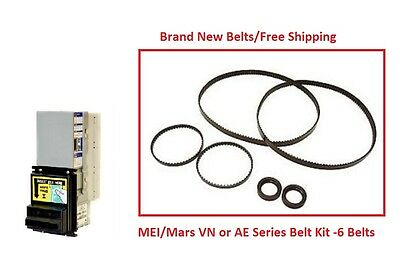 Mars Mei 2000 Series Vnae Bill Validator Acceptor Belt Kit