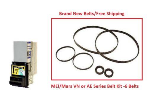 Mars (MEI) 2000 Series VN/AE Bill Validator Acceptor Belt Kit