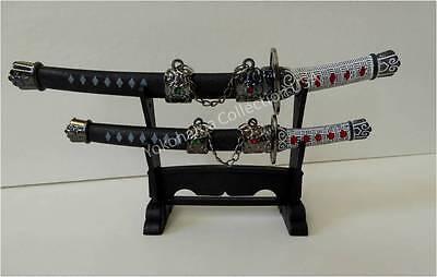 Japanese Letter Opener Paper Knife Samurai Katana Sword/Stainless-steel Blade