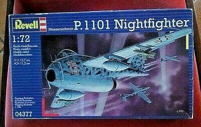 MESSERSCHMITT Me P.1101 Nightfighter scala 1/72 REVELL 04377