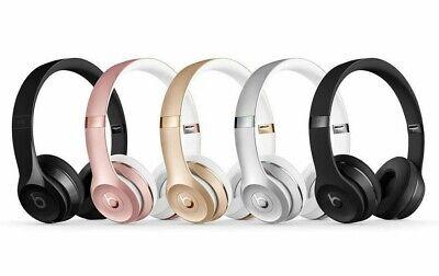 Apple Beats by Dr. Dre Solo 3 Bluetooth Wireless On-Ear Headphones Open Box