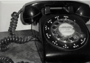 Old ROTARY PHONE- works!