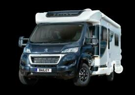 NEW 2021 Bailey Autograph 74-4 fixed bed motorhome