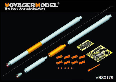 Voyager VBS0178 1/35 Modern Russian 125mm (2A46M-1) Barrel (T-80U used) (GP)