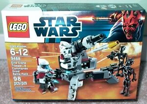 Lego Star Wars Elite Clone Trooper battle (9488)