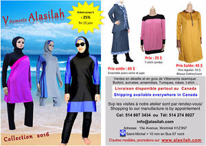Burkini islamic swimwear, survettes sport, hijab