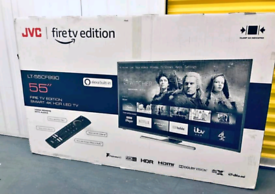 "BRAND NEW SMART TV 2021 JVC 55"" 4K UHD FIRE EDITION 1YR WARRANTY"
